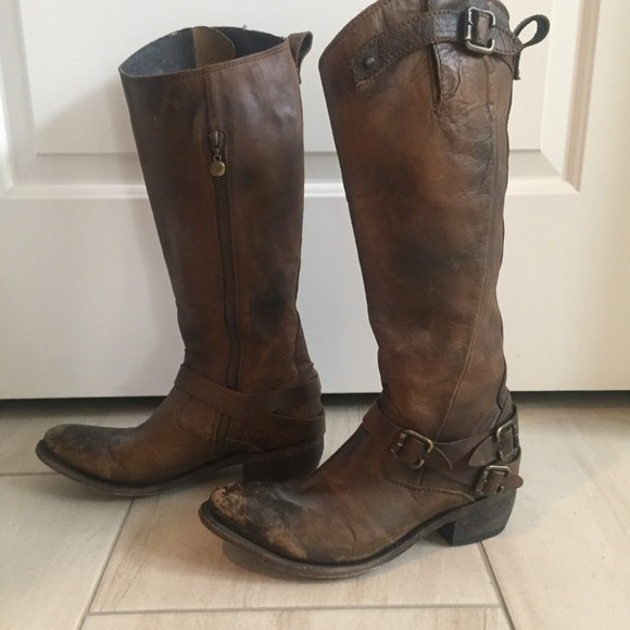 98f0785810993c Freebird by Steven Shoes - Freebird brown reckon tall riding boots size 8